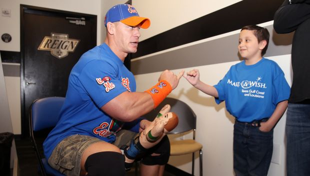 John Cena grants George's wish in Ontario: photos