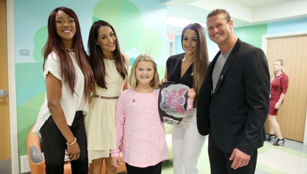 WWE visits St. Jude Children's Research Hospital: photos