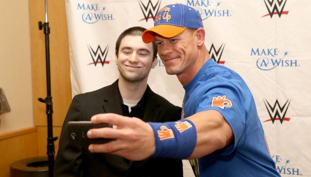 John Cena grants Michael's wish in Pittsburgh: photos