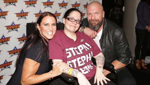Stephanie McMahon and Triple H meet the WWE Universe in New York during SummerSlam Week: photos