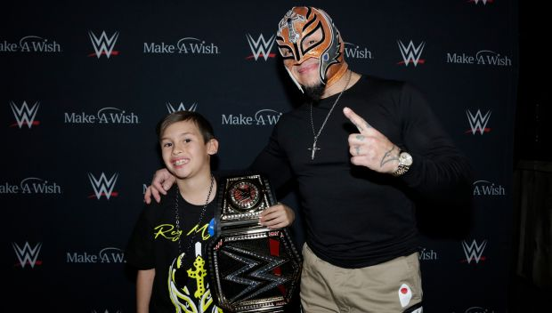 Rey Mysterio grants wishes in California: photos