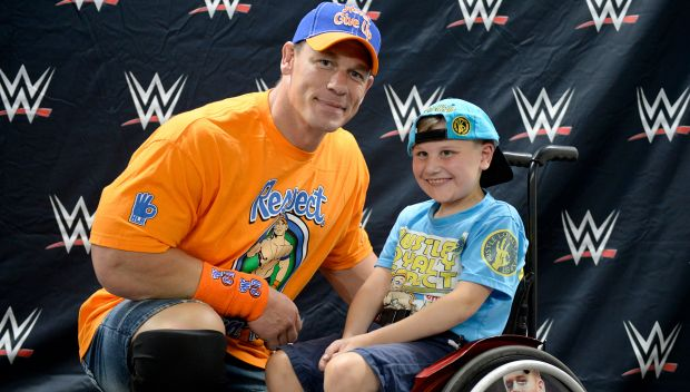 John Cena grants a wish in Providence: photos