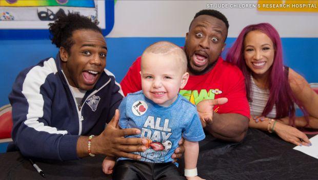 WWE Superstars visit St. Jude Children's Research Hospital: photos