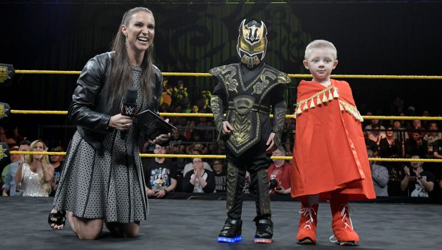 WWE Kid Superstar Reveal at WrestleMania Axxess: photos