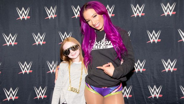 Sasha Banks grants Chloe's wish in Chicago: photos