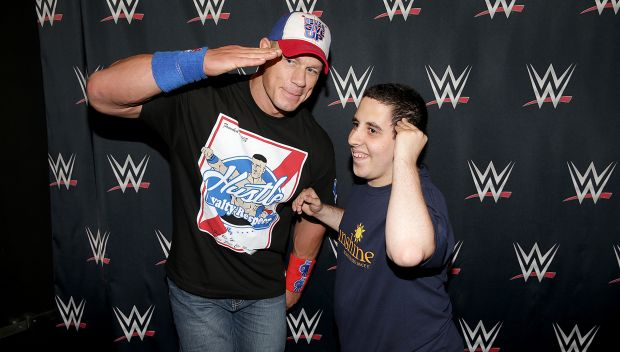 John Cena grants Joshua's wish in Brooklyn: photos