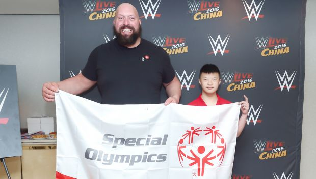 Big Show meets Special Olympics China athletes: photos
