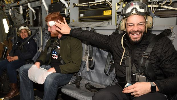 WWE Superstars take flight with the Marines: photos