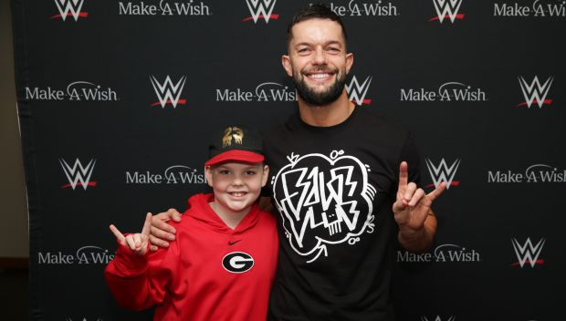 Finn Bálor grants wishes for Eric and Vladimir in Memphis: photos
