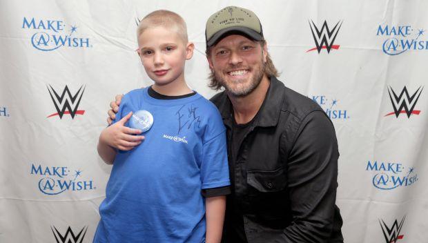 Edge grants Christopher's wish: photos