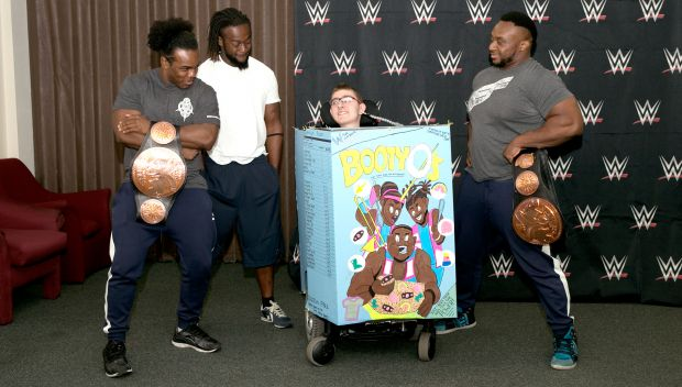 The New Day's wish with Keaton: photos