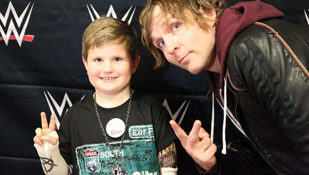 Circle of Champions: Dean Ambrose grants Ben's wish in Manchester: photos