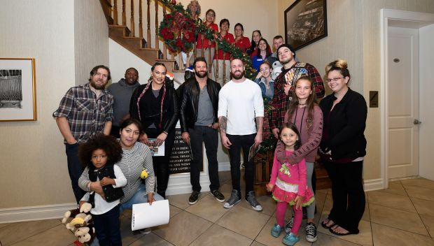 WWE Superstars visit Fisher House San Diego: photos