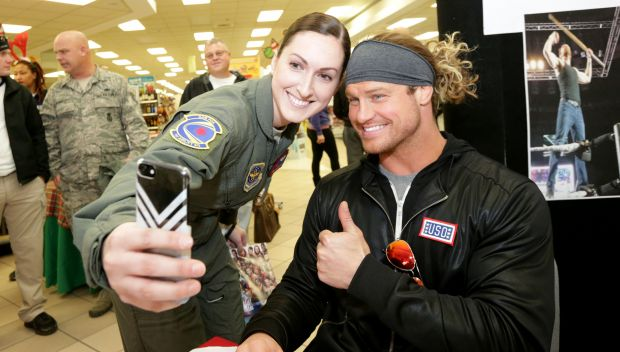 WWE Superstars greet military members and their families: photos