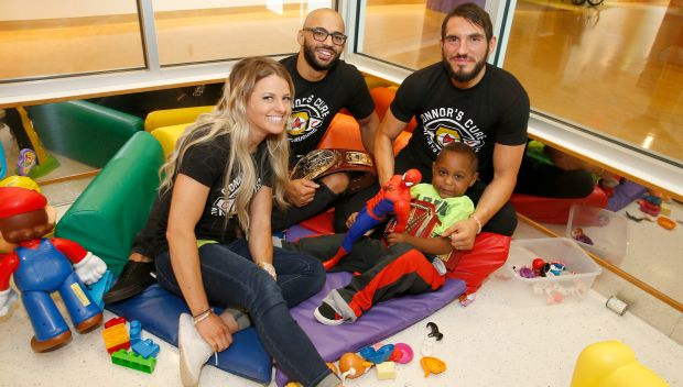 NXT Superstars visit kids at UPMC Children's Hospital of Pittsburgh: photos