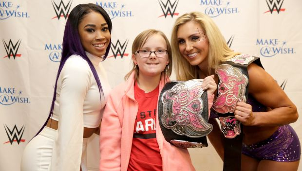Circle of Champions: Superstars and Divas meet Gabby: photos