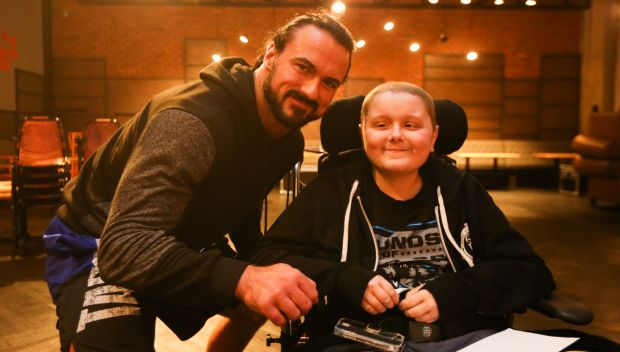 Drew McIntyre and Dean Ambrose grant wishes in Manchester: photos