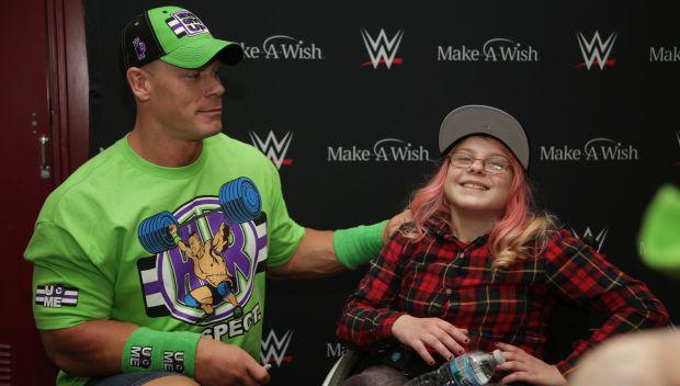 John Cena grants Hannah's wish in Milwaukee: photos