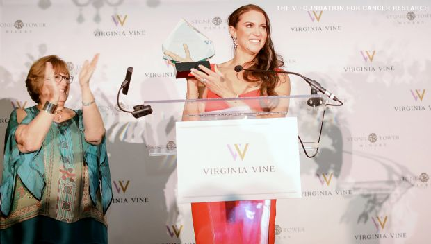 Stephanie McMahon honored at the V Foundation's Virginia Vine: photos