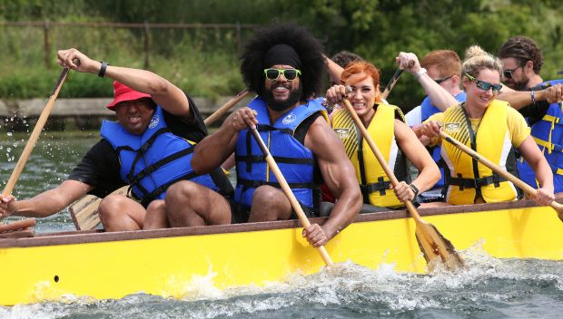 WWE & Special Olympics Ontario host Unified Dragon Boat Race during SummerSlam Week in Toronto: photos