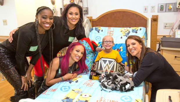 WWE visits Children's Hospital of Pittsburgh: photos