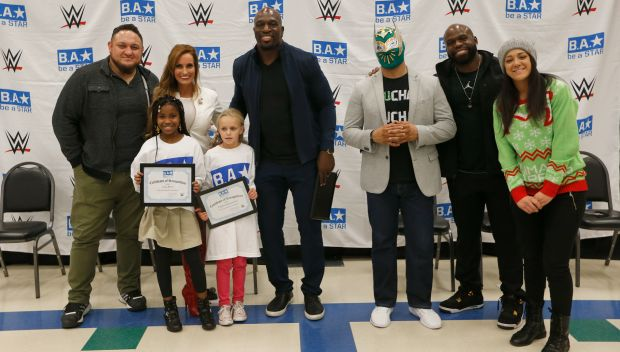 WWE hosts a Be a STAR rally in honor of WWE Tribute to the Troops in Fort Hood: photos