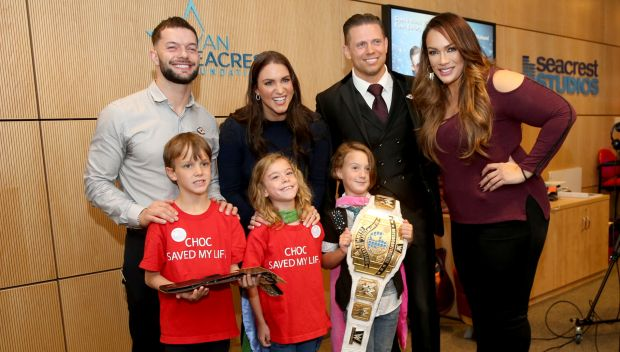 Superstars visit kids at Children's Hospital of Orange County: photos