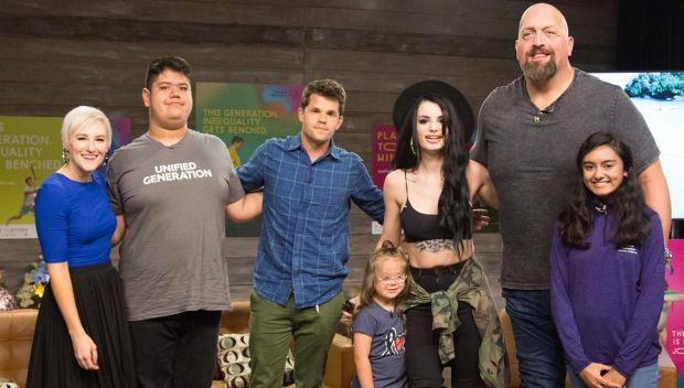 Paige & Big Show join Special Olympics Stream-A-Thon: photos
