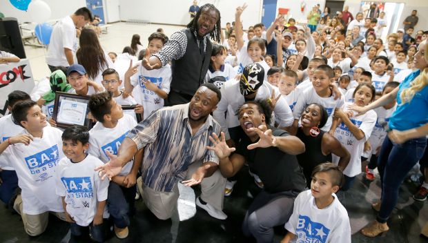 WWE hosts a Be a STAR rally in El Paso: photos