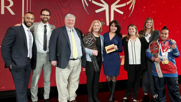 Special Olympics wins Business Partner of the Year at the Business Partner Summit during WrestleMania Week: photos