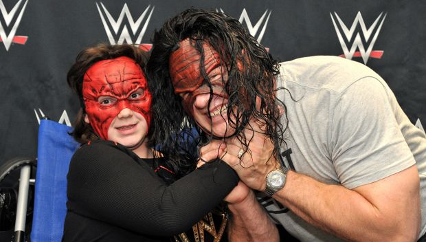Circle of Champions: Kane and Ryback grant wishes in Greenville: photos