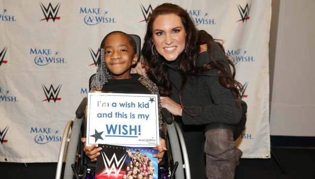 Stephanie McMahon grants Kaitlyn's wish: photos