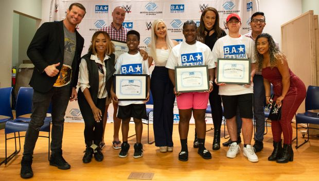WWE hosts a Be a STAR rally in Boston: photos