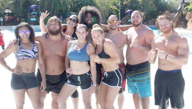 NXT Superstars join the Special Olympics Florida Polar Plunge: photos