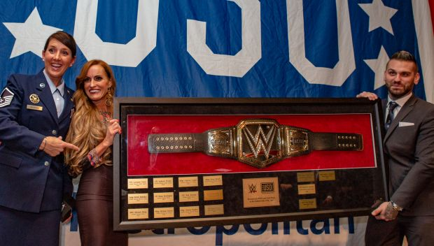 Dana Warrior and Corey Graves join USO Metro's Salute to Military Chefs Dinner: photos