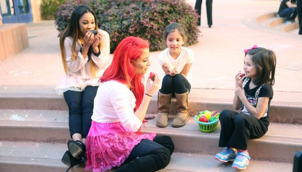Superstars and Divas visit Ronald McDonald House at Stanford during WrestleMania Week: photos
