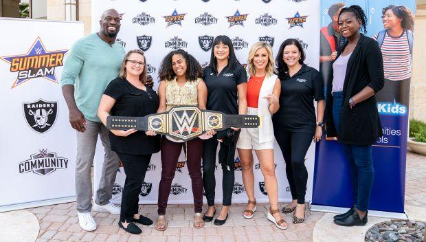 WWE honors Community partners in Las Vegas during SummerSlam Week
