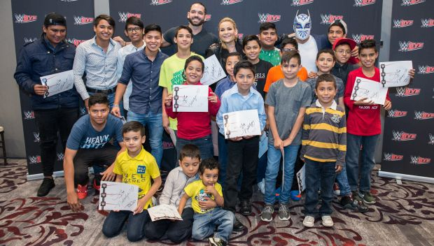 WWE Superstars meet kids at Casa Hogar Ser y Crecer in Monterrey: photos
