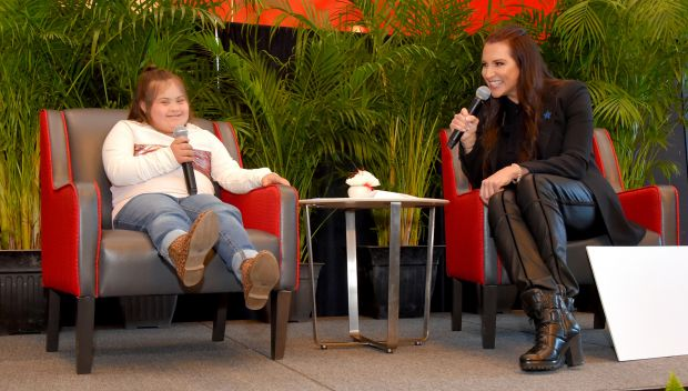 Stephanie McMahon and WWE Superstars host Road to WrestleMania luncheon in Tampa: photos