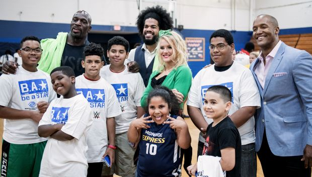 Superstars host Be a STAR rally in Springfield, Mass.: photos