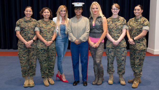 Dana Warrior blogs about her visit to Marine Barracks Washington and the U.S. Marines