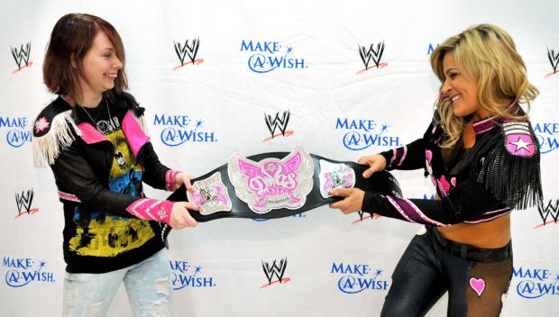 Natalya grants her first individual wish
