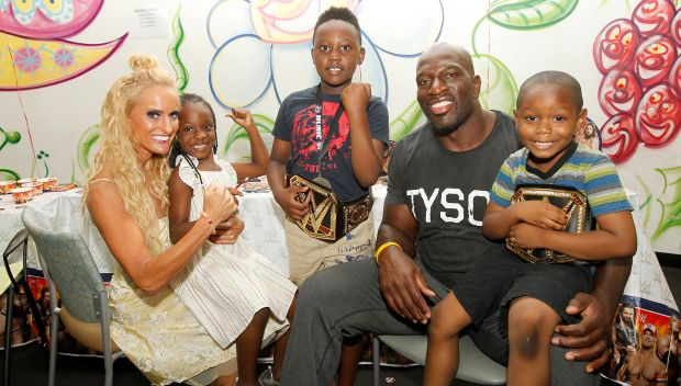 Superstars visit children at The Brooklyn Hospital Center: photos