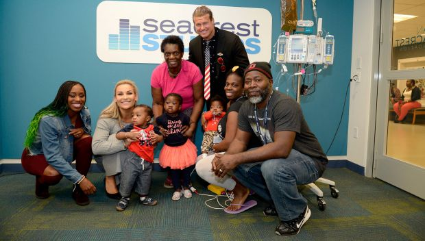 WWE Superstars visit the Boston Children's Hospital: photos