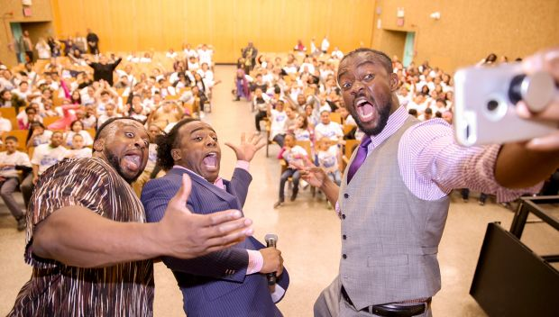 WWE hosts a Be a STAR rally in the Bronx: photos