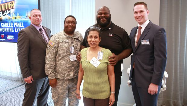 Superstars host Veterans Career Panel and Networking Event during SummerSlam Week: photos