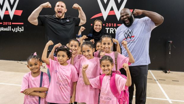 Superstars host a Be a STAR rally in Jeddah, Saudi Arabia: photos