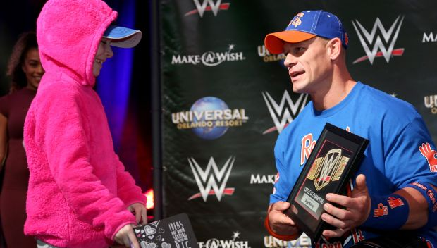 WWE and Make-A-Wish celebrate Circle of Champions honorees at WrestleMania party: photos