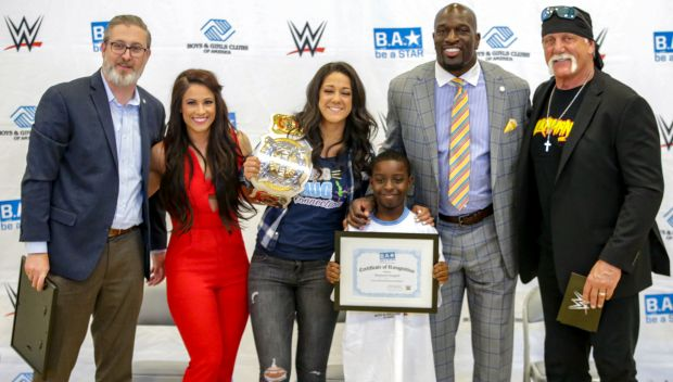 WWE hosts a Be a STAR rally in Tampa Bay: photos