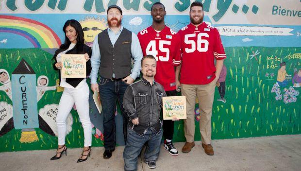 WWE hosts a Reading Celebration in San Jose, Calif.: photos
